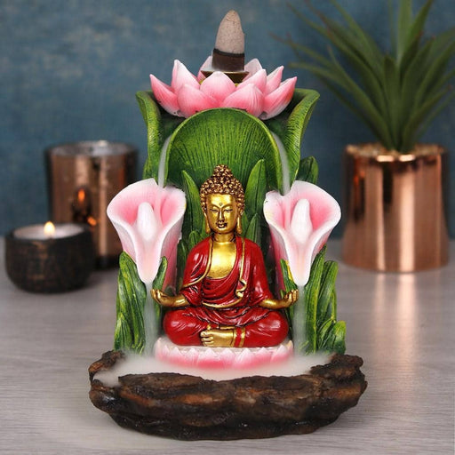 Colourful Buddha Backflow Incense Burner - Simply Utopia