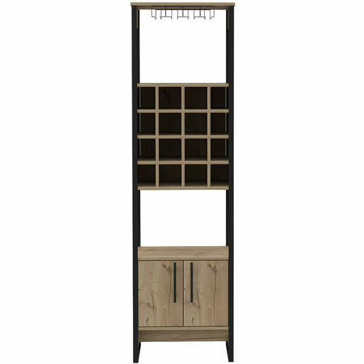 Brooklyn 2 door tall wine rack - Simply Utopia