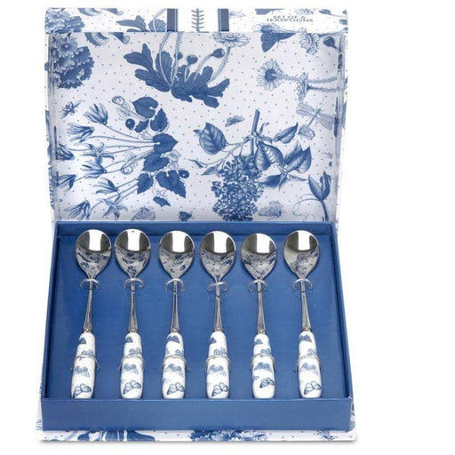 Portmeirion Botanic Blue Tea Spoons Set of 6 - Simply Utopia