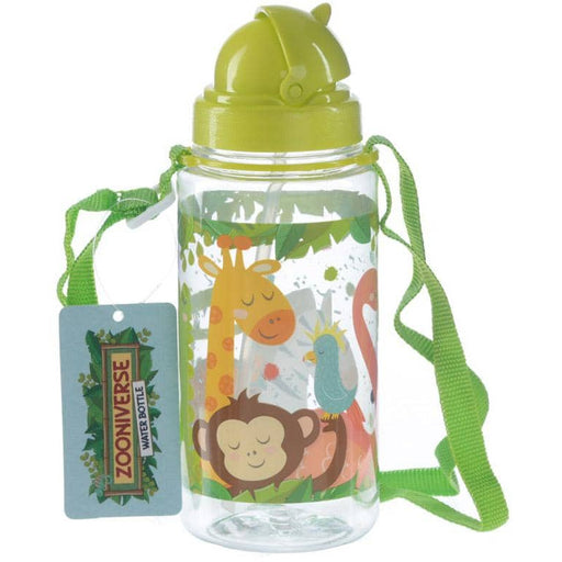 Funky Zoo Animals Design 450ml Childrens Water Bottle - Simply Utopia