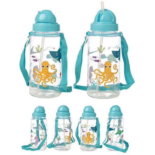Fun Sealife Design 450ml Childrens Water Bottle - Simply Utopia
