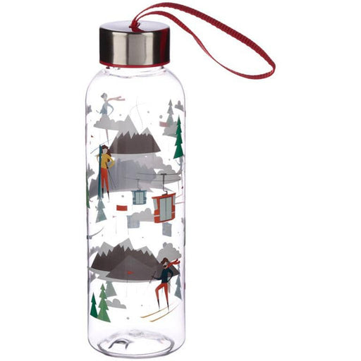 Fun Ski Design 500ml Bottle with Metallic Lid - Simply Utopia