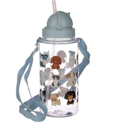 Fun Dog Squad Design 450ml Childrens Water Bottle - Simply Utopia