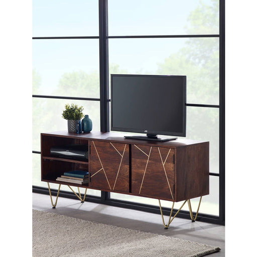 Dark Gold Plasma Media Unit - Simply Utopia