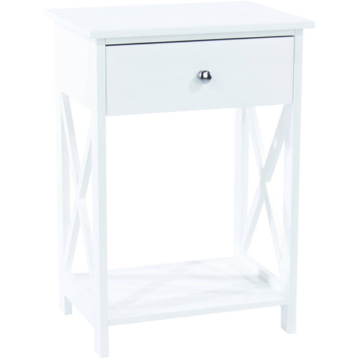 Options vermont, 1 drawer bedside cabinet - Simply Utopia
