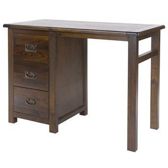 Boston single pedestal dressing table - Simply Utopia