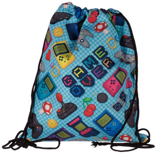 Handy Drawstring Bag - Fun Gaming Design - Simply Utopia