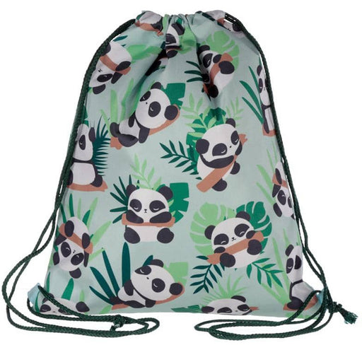 Handy Drawstring Bag - Fun Panda Design - Simply Utopia