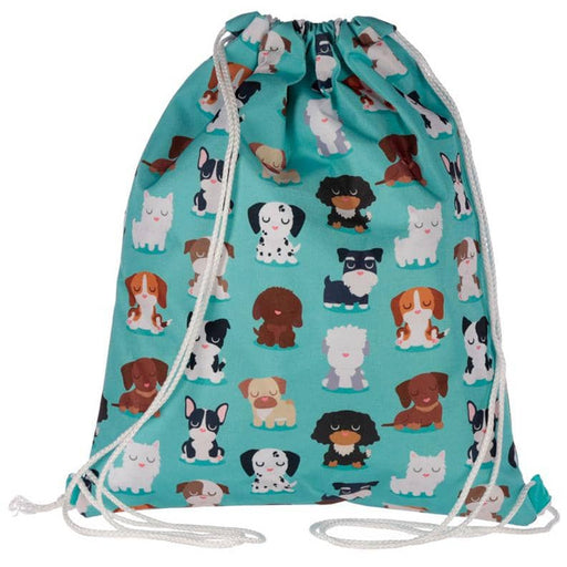Handy Drawstring Bag - Fun Cute Dog Squad Design - Simply Utopia