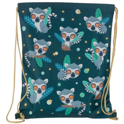 Handy Drawstring Bag - Lemur Mob - Simply Utopia