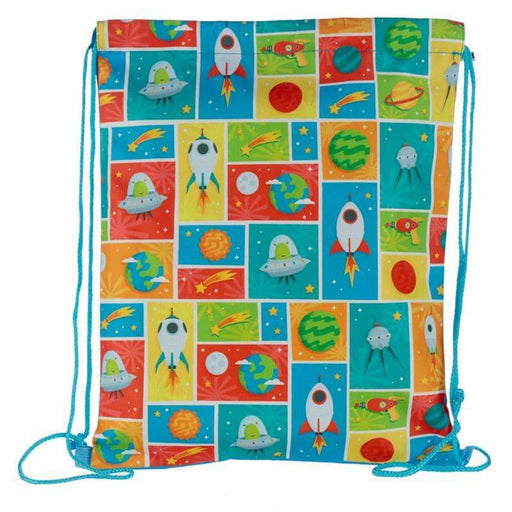 Handy Drawstring Bag - Retro Space Cadet - Simply Utopia
