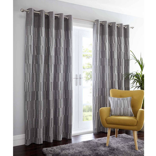 Detroit Eyelet Curtain - Simply Utopia
