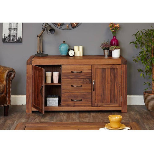 Shiro Walnut Large Sideboard - Simply Utopia