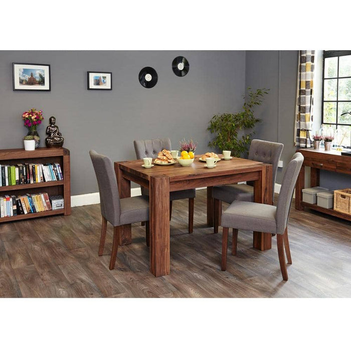 Walnut Dining Table (4 Seater) - Simply Utopia