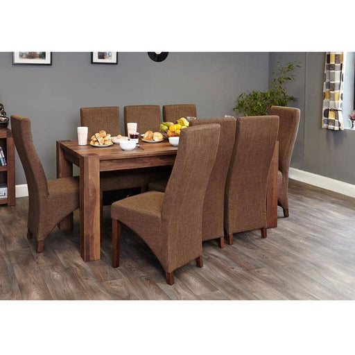 Walnut Large Dining Table (Seats 6-8) - Simply Utopia