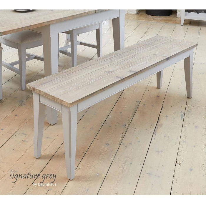 Signature Solid Wood Dining Bench 150cm Wide - Simply Utopia