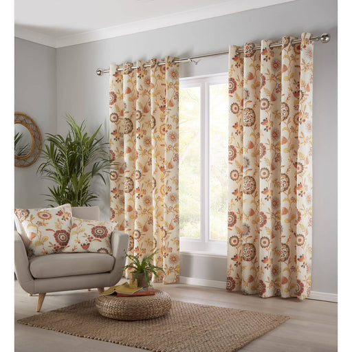 Charleston Eyelet Curtains - Simply Utopia