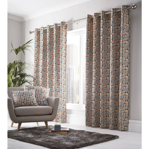 Chicago Eyelet Curtains - Simply Utopia