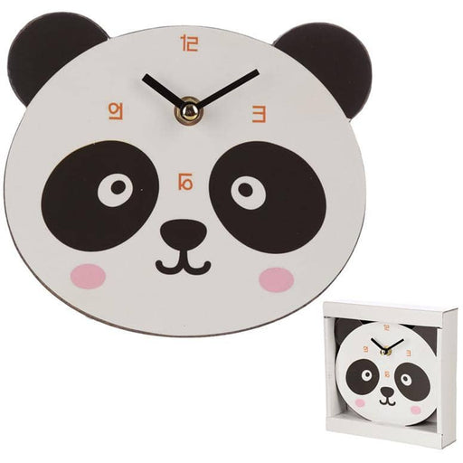 Cute Panda Shaped Wall Clock - Simply Utopia