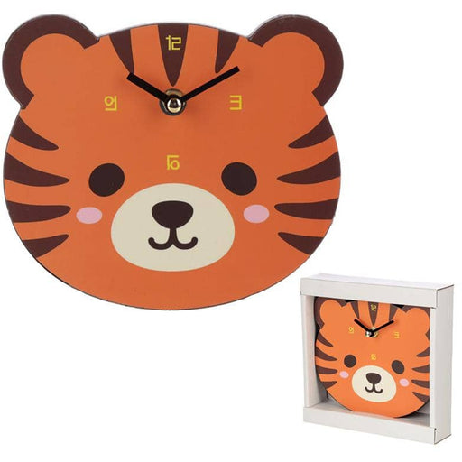 Cute Tiger Shaped Wall Clock - Simply Utopia