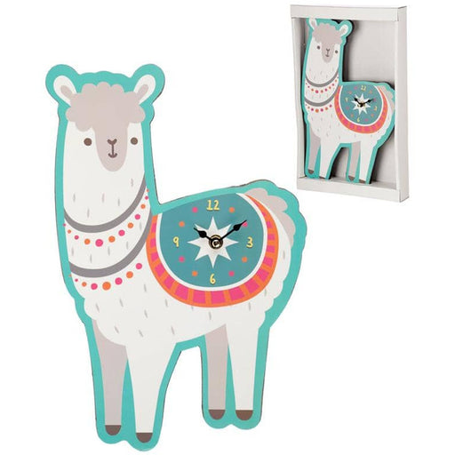 Fun Llama Shaped Wall Clock - Simply Utopia