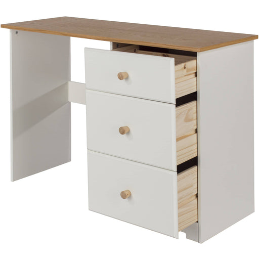 Colorado single pedestal dressing table - Simply Utopia