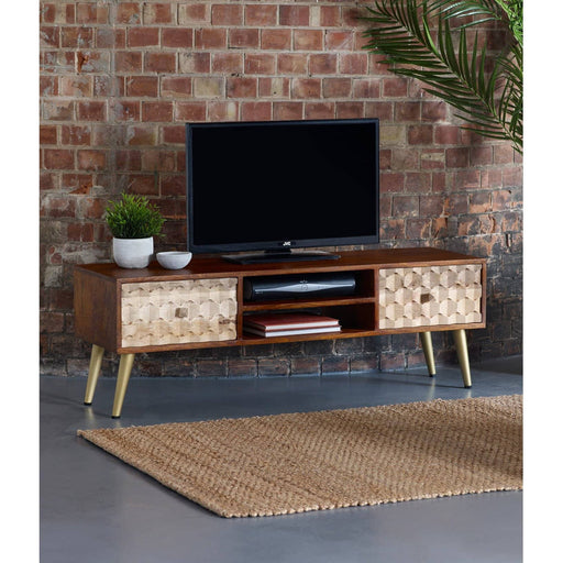 Edison Large Plasma Tv Stand - Simply Utopia