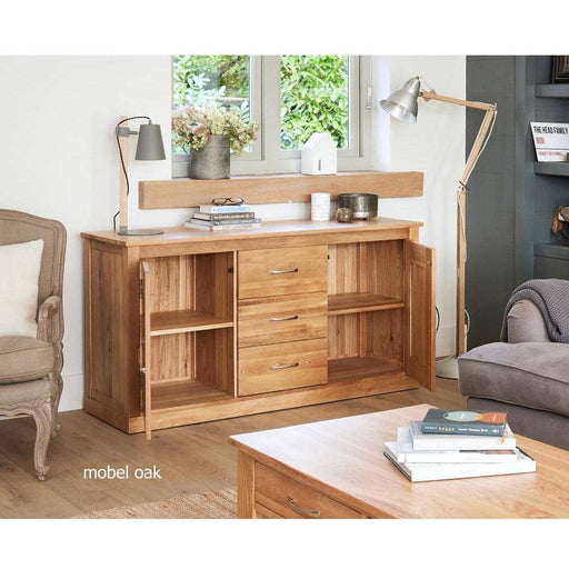 Mobel Oak Large Sideboard - Simply Utopia
