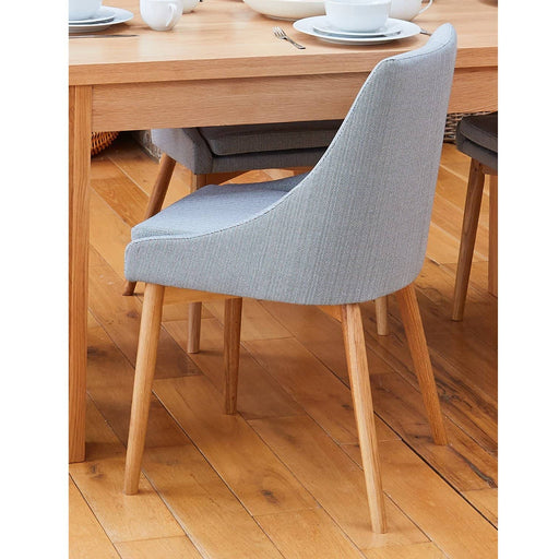 Oak Grey Chair (Pack of two) - Simply Utopia