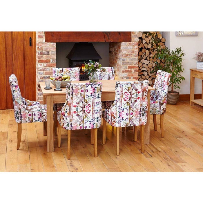 Mobel Oak 150cm Dining Table (4/6 Seater) - Simply Utopia