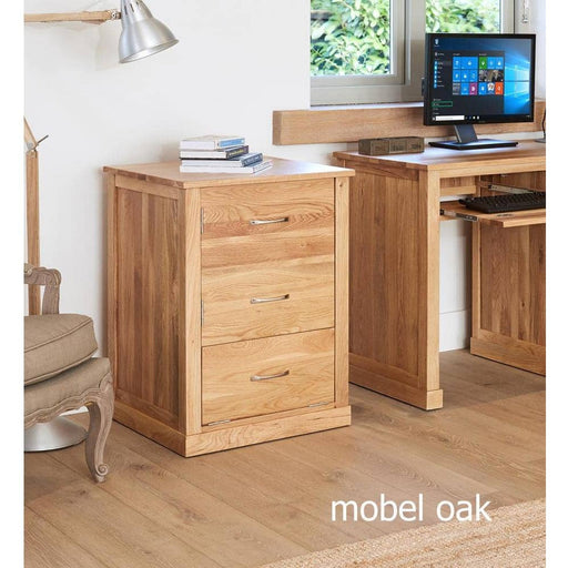 Mobel Oak Printer Cupboard - Simply Utopia