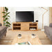 Mobel Oak Mounted Widescreen Television Cabinet - Simply Utopia