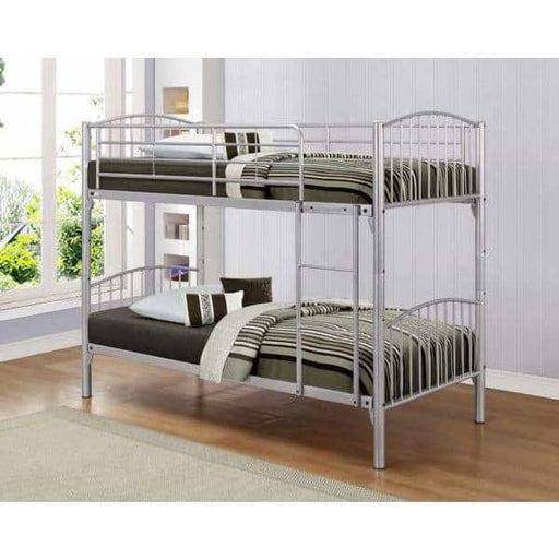Corfu Bunk Bed Silver - Simply Utopia