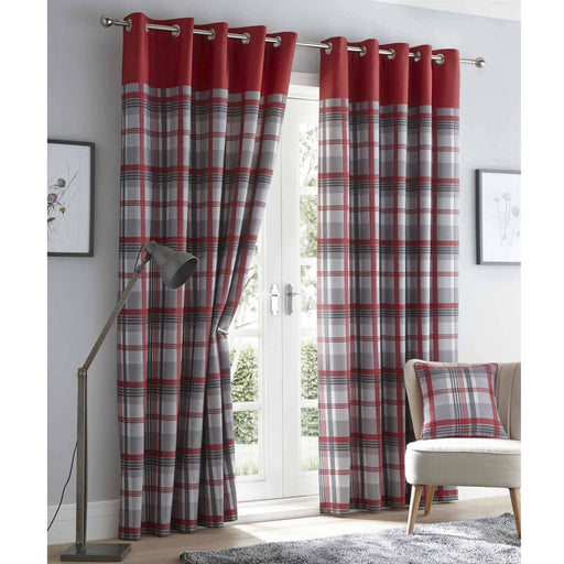 Orleans Eyelet Curtains - Simply Utopia