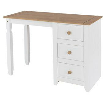Capri single pedestal dressing table - Simply Utopia