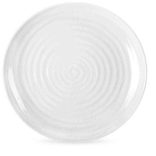 Sophie Conran for Portmeirion White Round Coupe Buffet Plates Set of 4 - Simply Utopia