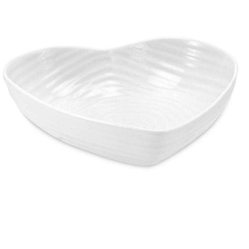 Sophie Conran for Portmeirion White Medium Heart Bowl - Simply Utopia