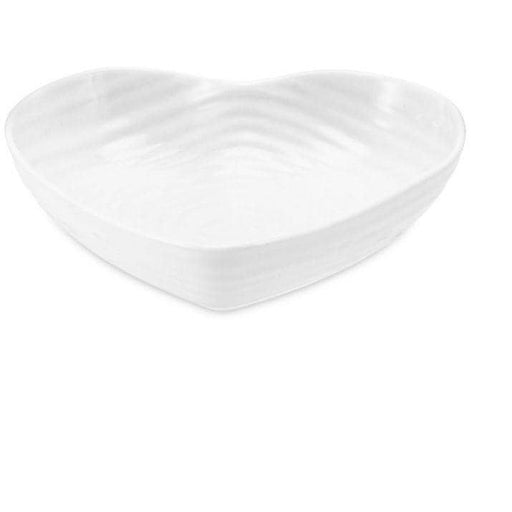 Sophie Conran for Portmeirion White Small Heart Bowl - Simply Utopia