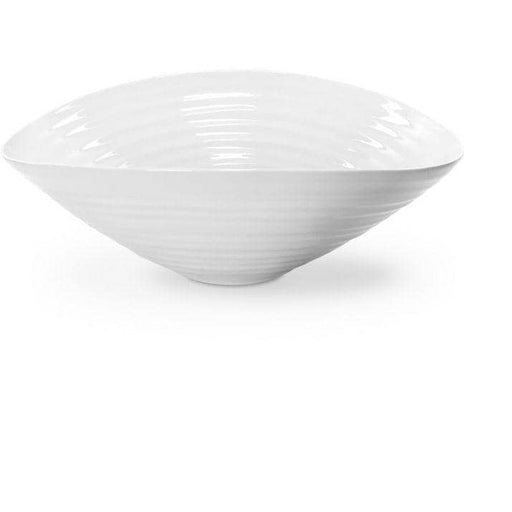 Sophie Conran for Portmeirion White Large Salad Bowl 33cm - Simply Utopia