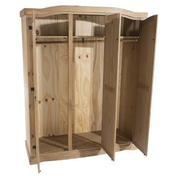 Corona Classic 3 door wardrobe - Simply Utopia