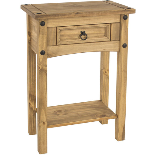 Corona Classic 1 drawer hall table with shelf - Simply Utopia