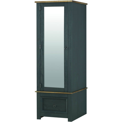 Corona Carbon armoire mirrored door - Simply Utopia