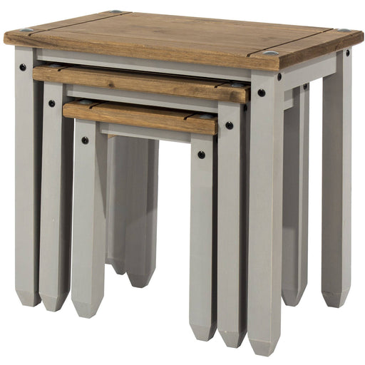 Corona Grey nest of tables - Simply Utopia