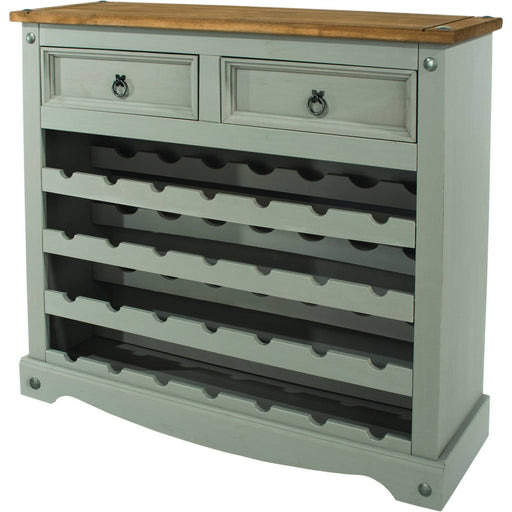 Corona Grey large wine rack - Simply Utopia