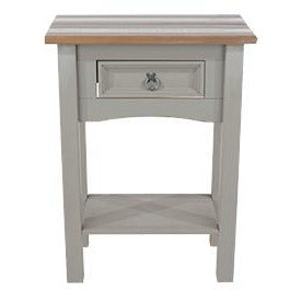 Corona Vintage  1 drawer hall table with shelf - Simply Utopia