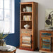 COASTAL NARROW BOOKCASE - Simply Utopia