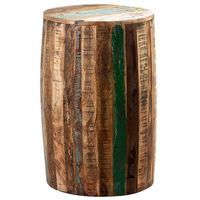 Coastal Drum Stool - Simply Utopia