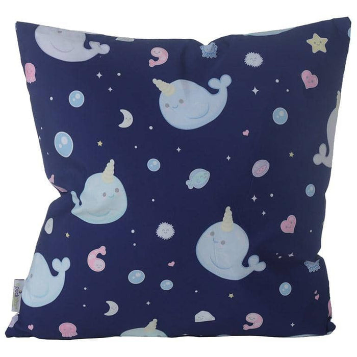 Decorative Cushion with Insert - Cute Narwhal - Simply Utopia
