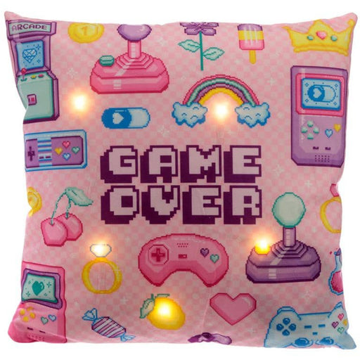 Decorative LED Cushion - Retro Gaming Next Gen - Simply Utopia