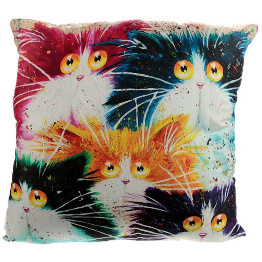 Cushion with Insert - Kim Haskins Cat - Simply Utopia